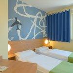 B&B Hotel Frankfurt-Hahn Airport - Zweibettzimmer