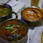 Lamb and curry from their menu for two,  rally a good offer with value for money