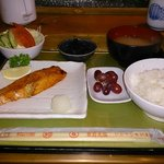 Grilled Salmon Set