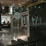 Hall Hotel Plaza ( fronte fermata bus e stazione FS Mestre )