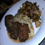 Country Style Meatloaf - free range beef & beer braised pork w/ herb smashed potatoes, stout gra