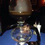 Cona coffee maker made a superb coffee experience.