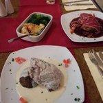 Two options of fillet steak BIG fillet steak!