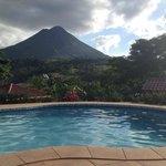 Sicht vom pool. Pool view