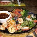 Sizzlers with Shrimp - YUMMY!!!