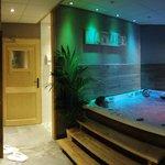 Le spa, centre bien-être de l'hôtel