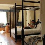 Jr. suite double beds