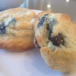 Fresh baked blueberry scones - yes they ARE that delish!