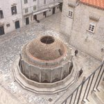 Water feature at Pile Gate end of Stradun