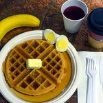 Free breakfast buffet