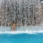 hotel's outdoor pool