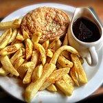 Pie, chips & gravy