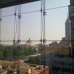 Vista desde el Museo de Memoria y Tolerancia hacia Bellas Artes