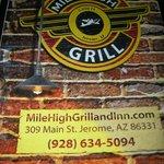 Mile High Grill, Jerome AZ
