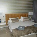 ruime slaaapkamer, prima bedden