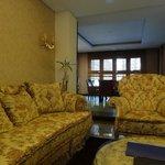 Интерьеры холла гостиницы