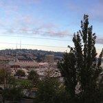 Panoramic morning view