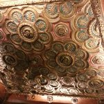 Breakfast room ceiling