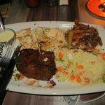 Steak & calamari combo