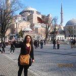 Blue Mosque, 5-minute walk from Stanpoli Hotel.