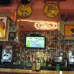 Art over bar area