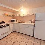 the Ground Level suite kitchen