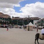 La plaza central.