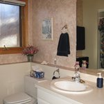 Private Ensuite Bathroom w/large walk-in shower