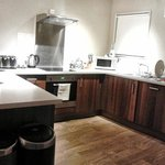Fantastic kitchen with double fridge and dishwasher