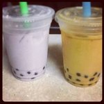 Taro Tea & Thai Tea