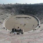arena, vista superior