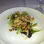 Grilled Diver Sea Scallop Salad