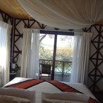 Chambre avec vue sur la terrace