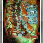 Specialty Rolls on a boat!