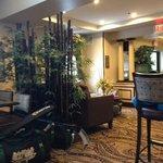 Very small lobby
