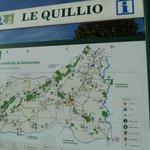 Carte du Quillio
