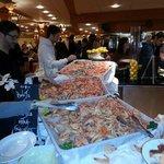 prawn buffet