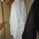 Two robes provided for the SPA