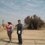 Denise and Tour Guide Mahmoud Abo Hadia