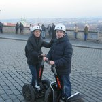 Visite de Prague en segway : GENIAL ! Merci Yann !