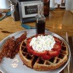 Waffles de la Casa