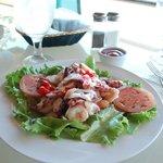 Octopus salad