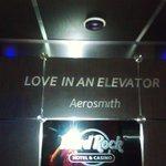 """Love in an Elevator.""  -Aerosmith"