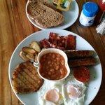 Amazing breakfast I had one day!