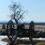 Cannon in the Gettysburg National Military Park