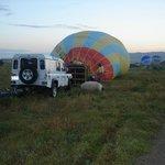 Right before flying over Kapadokya