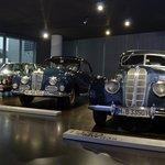 Exposição de carros de coleção