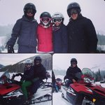 Snowmobiling in Park City!
