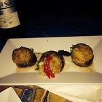 My fav- Mushrooms stuffed with cassava Mofomguitos