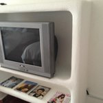Old CRT TV.